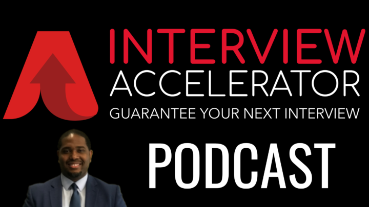 The Interview Accelerator Podcast Logo